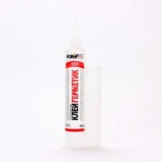Герметик силиконовый KIM TEC 101Е белый 70 мл